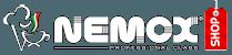 logo nemox shop bianco
